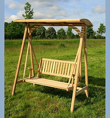 kmh teak 2 sitzer hollywoodschaukel 102089. Black Bedroom Furniture Sets. Home Design Ideas