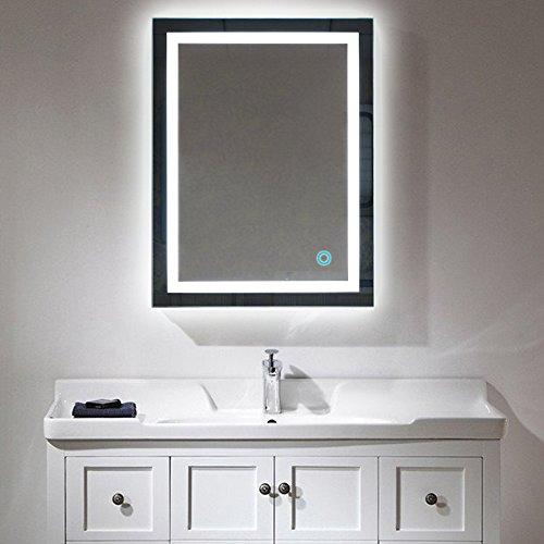 Badspiegel LED Beleuchtung Wandspiegel Badezimmerspiegel