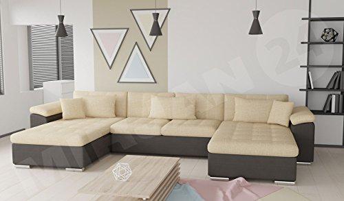 outlet ecksofa wicenza bis eckcouch mit zwei bettkasten und schlaffunktion bettfunktion. Black Bedroom Furniture Sets. Home Design Ideas