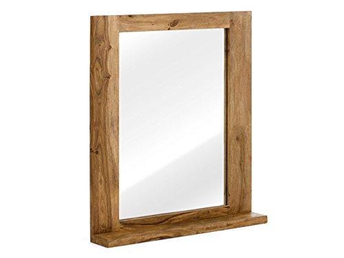 massivum Spiegel Stark 68x78x13 cm Palisander braun lackiert