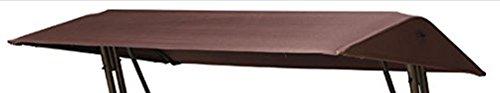 Bukatchi Sonnendach für Hollywoodschaukel, ca 215 x 120 cm in braun ohne Volant