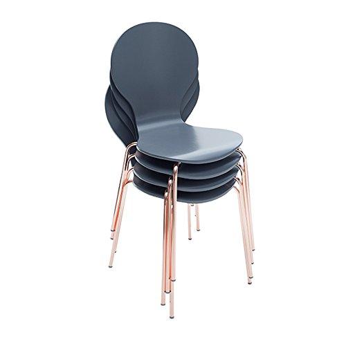 4er Set Design Stuhl Form Designklassiker Aus Hochwertigem