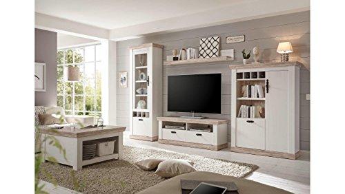 JUSTyou Samwell Wohnzimmerset Wohnwand Wohnzimmermöbel in Diversen Varianten