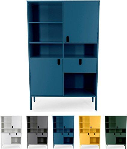 tenzo uno 8563 023 designer highboard 2 t ren 1 schublade. Black Bedroom Furniture Sets. Home Design Ideas