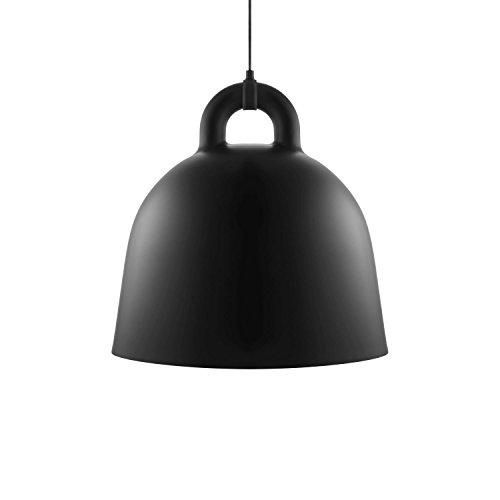 Normann Copenhagen Bell Hängeleuchte - schwarz - Ø 55 cm - Andreas Lund & Jacob Rudbeck - Design - Deckenleuchte - Pendelleuchte - Wohnzimmerleuchte