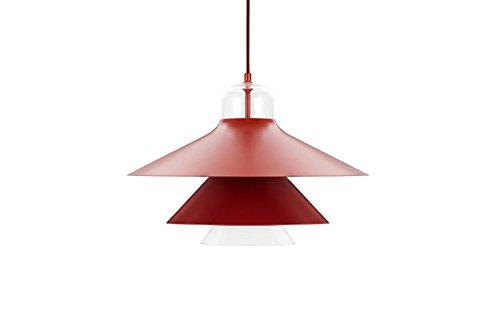 Normann Copenhagen Ikono Hängeleuchte - rot - L - Simon Legald - Design - Deckenleuchte - Pendelleuchte - Wohnzimmerleuchte