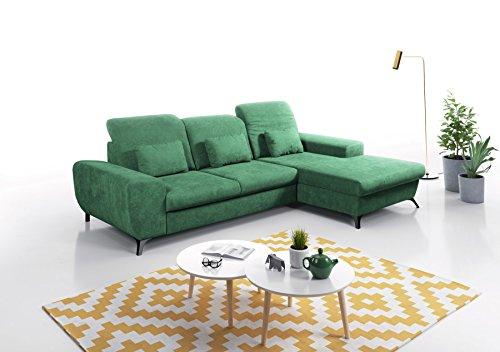 mb moebel ecksofa eckcouch mit bettkasten sofa couch l form polsterecke corse skandinavische m bel. Black Bedroom Furniture Sets. Home Design Ideas