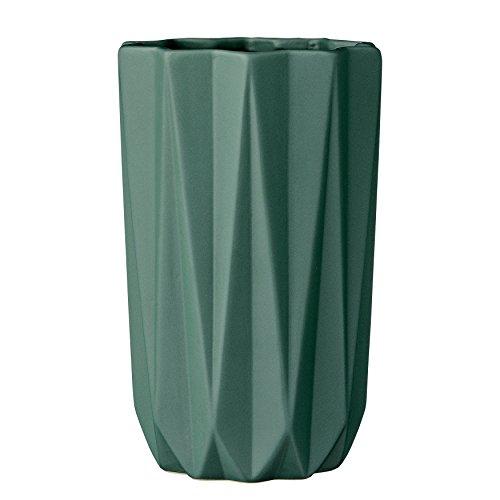 Bloomingville Dunkel grün Keramik Vase