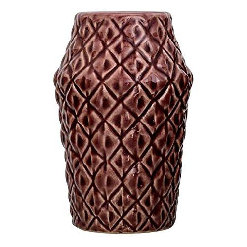 Bloomingville Vase, Keramik, Dark Rose Ø9,5xH15 cm