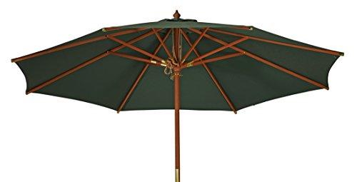 Kai Wiechmann®, robuster Sonnenschirm ø 300 cm/Sonnendach/Gartenschirm/Schirm/Gartenmöbel/Marktschirm
