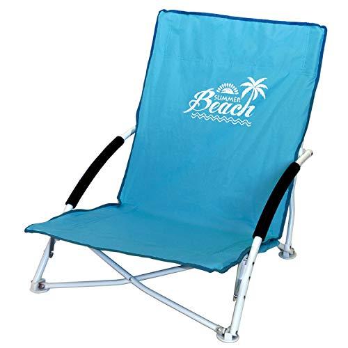 Wohaga Strandstuhl Campingstuhl Summer-Beach inkl. Transporttasche Beachchair Klappstuhl Gartenstuhl Campingmöbel Gartenmöbel