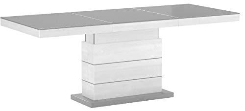HU Design Couchtisch Tisch Matera Lux H-333 Hochglanz höhenverstellbar ausziehbar Wohnzimmertisch Esstisch